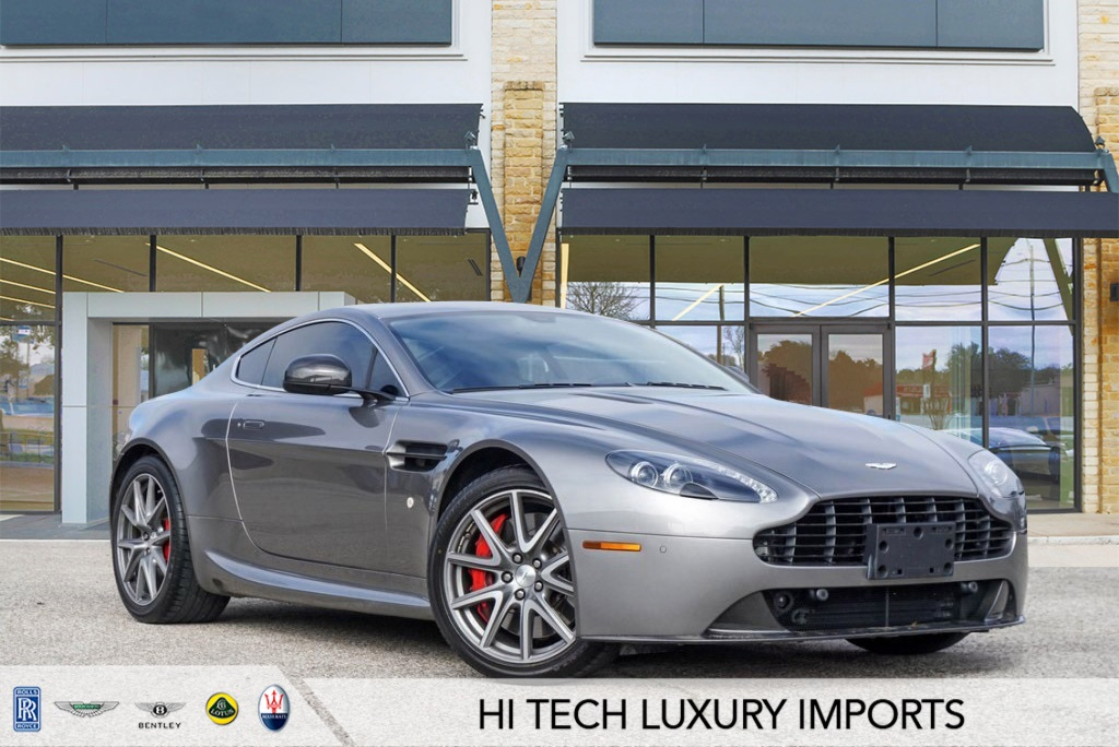 Certified Pre-Owned 2013 Aston Martin V8 Vantage GTS
