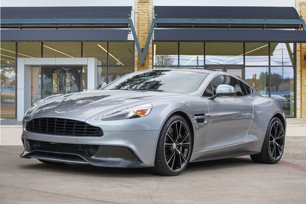 Certified Pre-Owned 2014 Aston Martin Vanquish V12