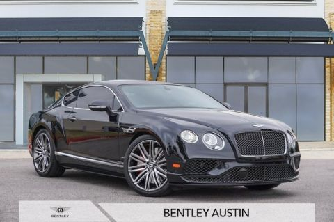 Pre-Owned 2017 Bentley Continental GT Speed