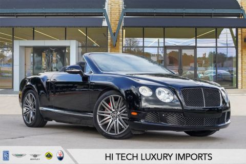 Certified Pre-Owned 2014 Bentley Continental GTC Speed