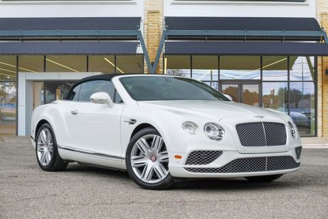 Certified Pre-Owned 2017 Bentley Continental GT V8